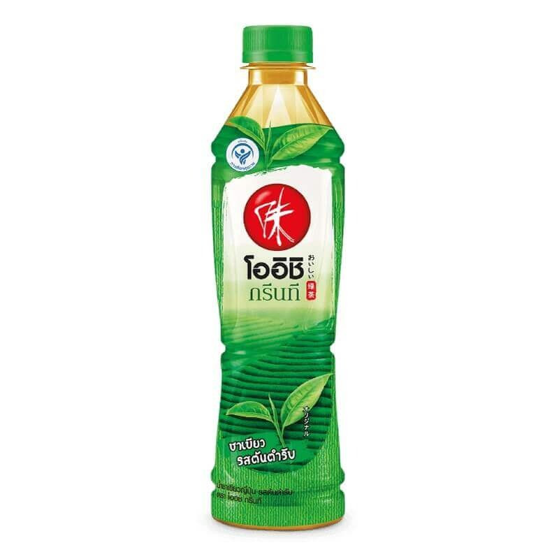Oishi Green Tea Original 380 ml.